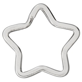 35 mm Star buckle - Nickel
