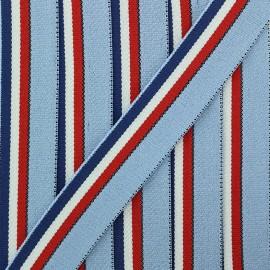 Ganse Elastique Le Baigneur 20 mm - Bleu x 50cm