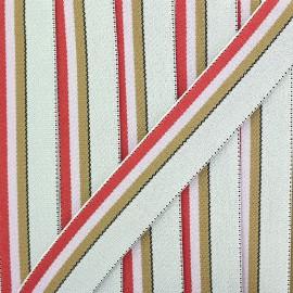 Ganse Elastique Le Baigneur 20 mm - Fuchsia x 50cm