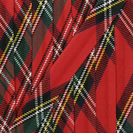 Biais Tartan Badenoch - Rouge x 1m