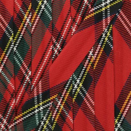 Tartan Bias Binding - Red Badenoch x 1m
