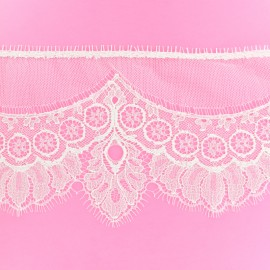 Lace of Calais® Ribbon Clémence - Ivory x 50cm