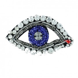 Bohin jewel sew-on with rhinestones - The Great Eye