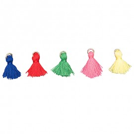Mini Pom Poms Set - Carnaval