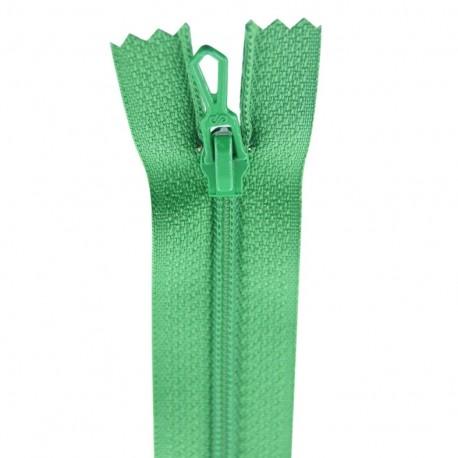 Fermeture éclair® non séparable - vert billard