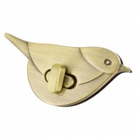 70 mm Bird Turnstile Clasp - Bronze