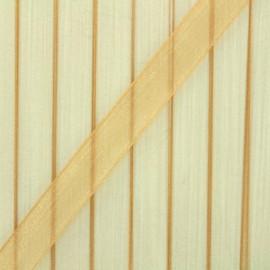 10 mm Organza Ribbon - Ochre x 1m