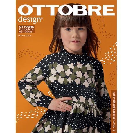Ottobre Design kids sewing pattern - 4/2018