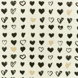 Tissu Poppy sweat Montgolfière - écru x 10cm