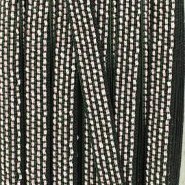Lurex Ribbon - Green/Pink Brianna x 1m
