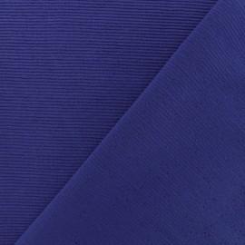 500 Rays Jersey fabric - Indigo x 10cm