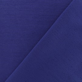 Tissu jersey 500 raies - Indigo x 10cm