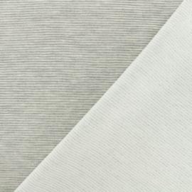 500 Rays Jersey fabric - light grey x 10cm
