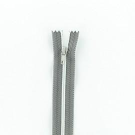 Fermeture Eclair® Non-Séparable - Jeans Noir/Blanc