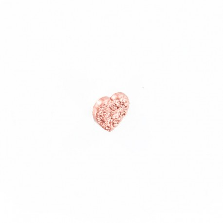 Bouton Polyester Corazoncito - Cuivre