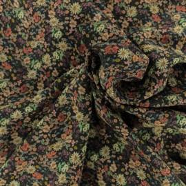 Tissu Viscose Mariella - noir x 10cm