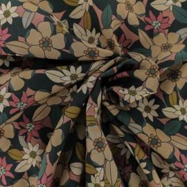 Tissu Viscose Ornella - Rouille x 10cm