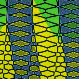 Wax print fabric - Nubi x 10cm