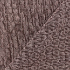 Quilted fabric single-sided - Old Pink Antalya x 10cm
