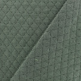 Quilted fabric single-sided - Green Antalya x 10cm