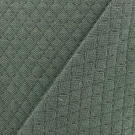 Tissu matelassé simple face Antalya - Vert x10cm