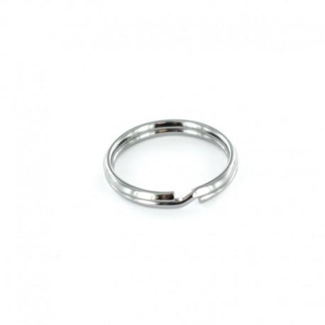 Split Ring for Keychain - Tin