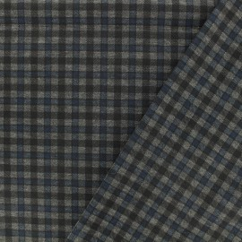 Punto di Roma Jersey Fabric - blue Carlisle x 10cm