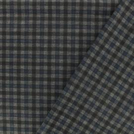 Tissu Jersey Punto di Roma Carlisle - bleu x 10cm