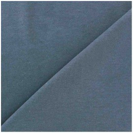 Plain jersey fabric - blue pastel x 10cm