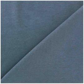 Tissu Jersey uni 100% coton - bleu pastel x 10cm