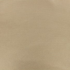 500 Rays Polyester fabric - Iridescent Nude x 10cm