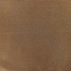 500 Rays Polyester fabric - Copper x 10cm