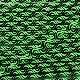 3 mm elastic cord - neon green Vaguelette x 1m