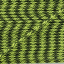 3 mm elastic cord - neon yellow Vaguelette x 1m