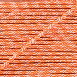 3 mm elastic cord - neon orange Vaguelette x 1m