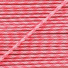 3 mm elastic cord - neon pink Vaguelette x 1m