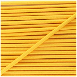 5 mm elastic cable  - sunflower yellow