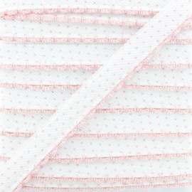 Picot Edge Dot Piping Cord - Pink x 1m