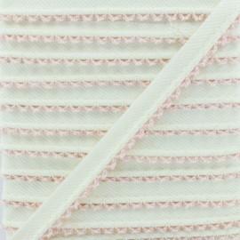 Picot Edge Piping Cord - Pink x 1m