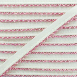 Passepoil Sergé Bord Crochet - Fuchsia x 1m