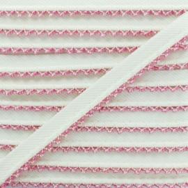 Picot Edge Piping Cord - Fuchsia x 1m