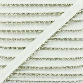 Picot Edge Piping Cord - Cappuccino x 1m