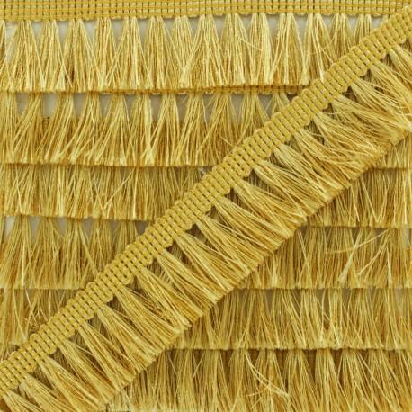 Fringe Trimming Ribbon - Gold Métalica x 1m