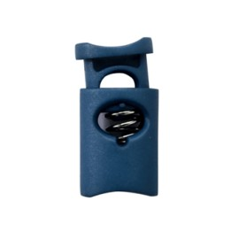 30 mm Polyester Cord Lock Stopper - Blue