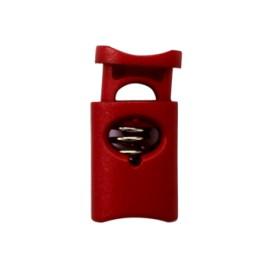 Arrêt Cordon Polyester 30 mm - Carmin