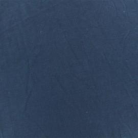 Tissu jersey modal douceur - bleu marine x 10cm