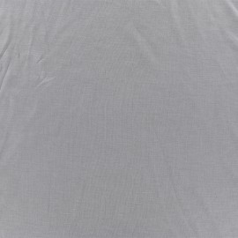 Douceur Modal jersey fabric - Pearl grey x 10cm