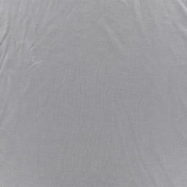 Tissu jersey modal douceur - gris perle x 10cm