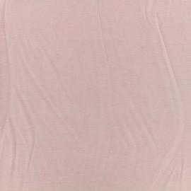 Tissu jersey modal douceur - blush x 10cm