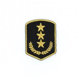 Thermocollant Laurier Militaire - Noir